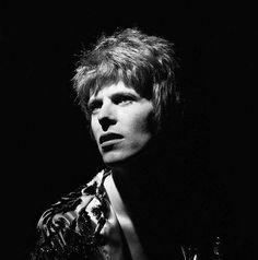 David Bowie, 1972. Photo by Brian Ward