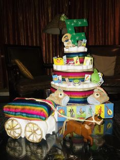 Energetic specified baby shower diaper cake ideas Upload presentation Mexican Theme Baby Shower, Boy Baby Shower Themes, Baby Boy Shower, Baby Showers, Mexican Party, Diaper Shower, Baby Shower Diapers, Baby Shower Cakes, Baby Shower Mexicano