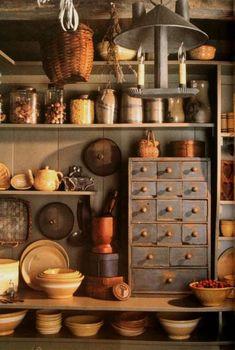 36 Stylish Primitive Home Decorating Ideas #PrimitiveHomes