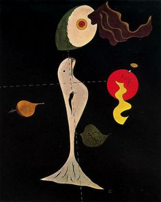 Head of a Man - Joan Miro - WikiArt.org