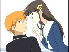 kyo and tohru   ... dot Net - Most viewed/kyo tohru Pics, Images, Screencaps, and Scans
