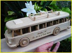 Hračka autobus RTO s textom Wooden Toys For Kids, Promotional Giveaways, Handarbeit