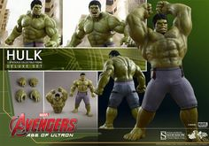 Avengers Age of Ultron Movie Masterpiece Action Figure 1/6 Hulk Deluxe - The Movie Store