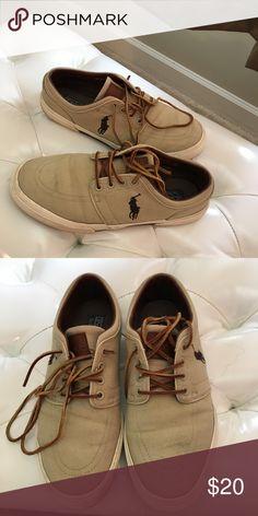 Men's Polo By Ralph Lauren Sneakers Men's Polo By Ralph Lauren Sneakers; Good Condition; everyday wear Polo by Ralph Lauren Shoes Sneakers