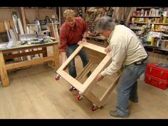 This Old House general contractor Tom Silva transforms one sheet of plywood into a hold-all, easy-roll cart. (See below for a shopping list and tools.) Click...