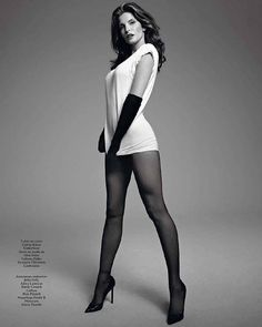 The gorgeous @stephanieseymourofficial in our Pure Matt 20 tights. Thank you @voguehommes @terryrichardson @melzy917 #FALKE #feelFALKE #vogue #fashion #calvinklein #model #picoftheday #photooftheday