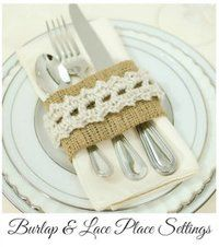 Shabby Chic Place Settings