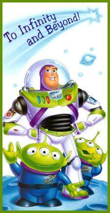 *BUZZ LIGHTYEAR & THE ALIENS ~ Toy Story