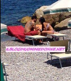Foto di #Amedeo #Andreozzi e #Alessia #Messina al mare dopo #Temptation Island