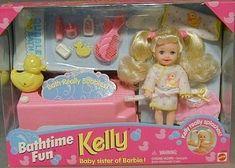 Li'l Friends of Kelly Childhood Toys, Childhood Memories, Little Kelly, Barbie Kids, 90s Stuff, Barbie Kelly, 90s Nostalgia, Barbie Accessories, Barbie Collection
