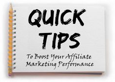 Very useful and effective affiliate marketing tips