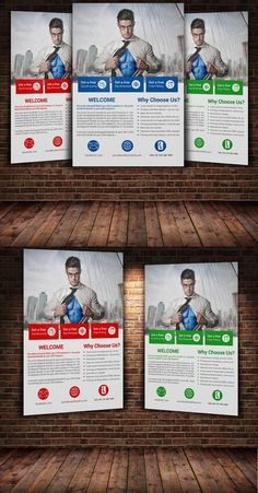 Creative business Flyer Template. Flyer Templates. $6.00