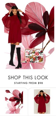 """Blooming Happy"" by sweetyincago ❤ liked on Polyvore featuring Valentino, Nasty Gal, Loeffler Randall and Gucci"