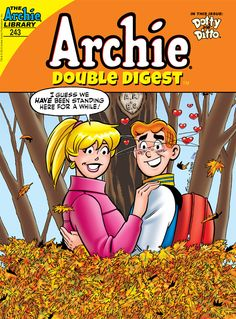 Cover for Archie Double Digest (Archie, 2011 series) [Direct] Old Comics, Vintage Comics, Double Digest, Archie Comics Riverdale, Archie Comic Books, Books New Releases, Romantic Comics, Archie And Betty, Josie And The Pussycats