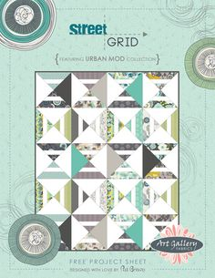 Street Grid - - Love the simplicity of this pattern  Lots of other free patterns here as well