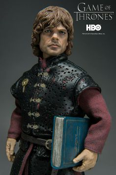 "Game of Thrones Tyrion Lannister goes up for pre-order on May 26th, 9:00AM Hong Kong time at www.threezerostore.com Some info on our pre-orders: we charge full amount upfront, give estimated shipping date, manufacture and ship it. 22cm (8.7"") tall collectible costs: 130USD/990HKD with worldwide shipping included. Please check our Facebook page: www.facebook.com/threezeroHK for additional photos and info. #threezero #HBO #GameofThrones #GOT #collectible #toys"