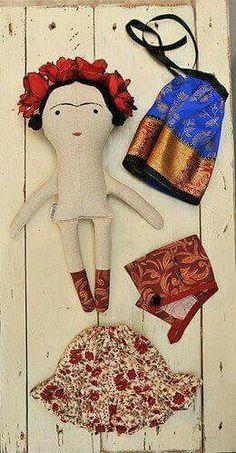 Muñequita Frida...