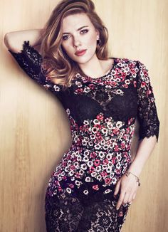 Scarlett Johansson – Txema Yeste Photoshoot for Marie Clare 2013 - 1