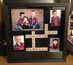 What about this one?? I like this. I can get enough tiles (with lots extra) for like $30, then we can get a big frame and figure out where to put all of the names. @Juli Ann Wells Shafer
