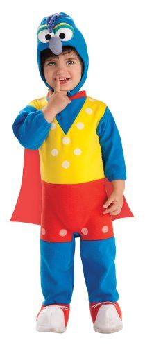 Muppets Toddler EZon Romper Costume  Gonzo