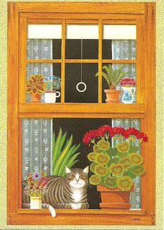 Postcard Wish List - Cats in Art - Jocelyn Cuckootree - Picasa Web Albums