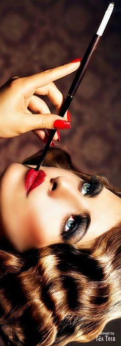 Rosamaria G Frangini | High Makeup | JustPlainFabulous |