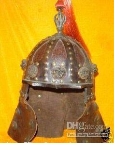 Shirn-Rahl | Lion People //// Mongol Asiatic helmet