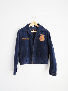 Corduroy Union Jacket // Vintage 1970's California Union Jacket