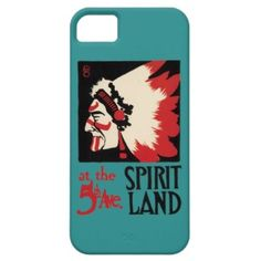 Native American Indian Design Tribal Spirit Land iPhone 5 Covers
