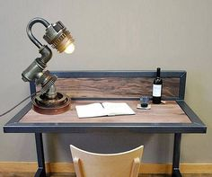 Antique style lamps Retro bedroom lighting Antique style