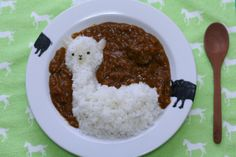 Llama rice.  Yes, please.