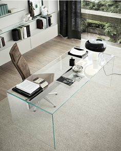 Crystal   AIR DESK by Gallotti |  design Pinuccio Borgonovo