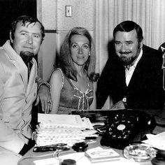 Hank Cochran, Jeannie Seely and Songwriter Producer Joe Allison (Courtesy Jeannie Seely)