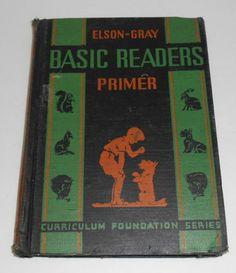 Elson Gray Basic Readers PRIMER1936 Scott Foresman Co Miriam Story Hurford | eBay