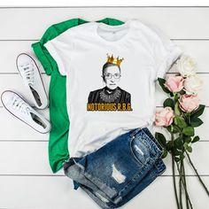 Ruth Bader Ginsburg Notorious Rbg t shirt
