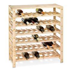 Swedish Wood Shelving, Wine Racks
