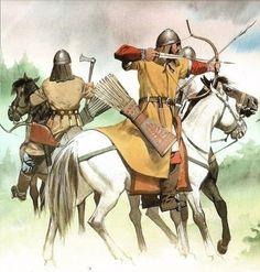 Avar(Turk) Warriors
