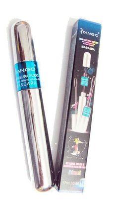 Mascara de Cilios Tango 4 D 2 em 1 À Prova d'água - 17g, rimel tango 4D, rimel tango 2 em 1, rimel tango - MAQUIAGEM & CIA