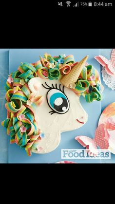 Unicorn cake by taste.com.au