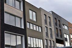 Zelfbouw op IJburg - divers straatbeeld