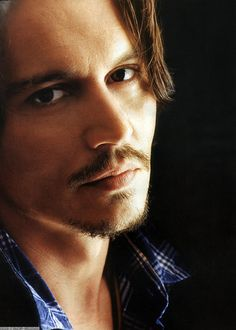 Johnny Depp. If you give me that look YOU'RE in trouble.