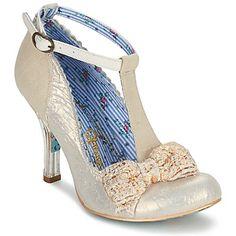 Heels+Irregular+Choice+FLOXY+White+/+BEIGE+102.13+£