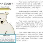 Friends~I put this little close read together to go along with my polar bear unit this week in class. I am planning on using this in my reading group with my Close Reading Book Marks.   Included in this freebie you will find a nonfiction reading passage about polar bears. You will also find a QR code to scan for a verbal reading of the passage. 2 pages of response questions are provided.