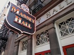 Massey Hall - SO many great shows in this great old hall - Dylan, Cohen, Lightfoot (many times), Doobie Bros, Renaissance, John Entwistle, Joan Armatrading, April Wine, The Knack, etc., etc.