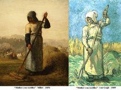 Van Gogh ( 1853 - et Millet Vincent Van Gogh, Composition Art, Van Gogh Paintings, Rare Photos, Artist At Work, Les Oeuvres, Creative Art, Images, Masters
