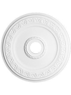 "Egg & Dart 30 5/8"" Ceiling Medallion With 4"" Center Hole 