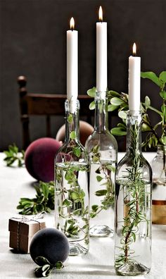 Decoration: 3 festive tables for Christmas - - # Decoration . - Decoration: 3 festive tables for Christmas – – # Deco - Deco Table Champetre, Diy Wedding, Rustic Wedding, Fall Wedding, Wedding Ideas, Light Wedding, Wedding Trends, Wedding Shoes, Dream Wedding