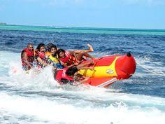 Banana boat rides.