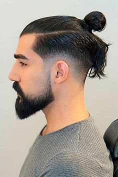 An undercut long hair look comes out dapper and bold. Besides, there are many ways to pull it off, such as a sidecut, bald fade with a hair design and others. Because we could not leave you without inspiration, we have compiled this collection. #menshaircuts #menshairstyles #undercut #undercutmen #undercutlonghair #longhairundercut Mens Hairstyles Pompadour, Man Bun Hairstyles, Classic Hairstyles, Wedding Hairstyles, Popular Haircuts, Cool Haircuts, Haircuts For Men, Hair And Beard Styles, Curly Hair Styles