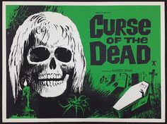 CIRSE OF THE UNDEAD (1966) Considered to be one of Bava's best films (and by many one of the greatest horror films of all time), 'Operazione Paura' (US title: Kill, Baby, Kill) sees his retrun to horror with this occult murder mystery interweaving elements of the traditional giallo thriller with an unusual Gothic ghost story. Superb original rolled condition.